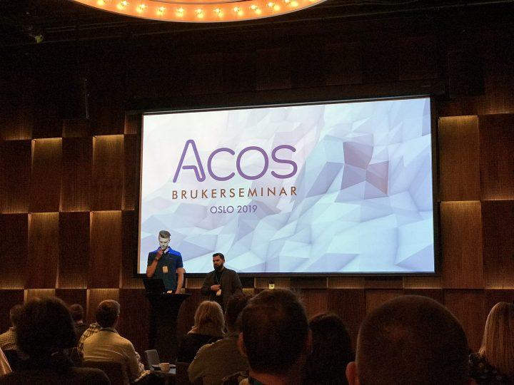 Tur til Acos brukerseminar